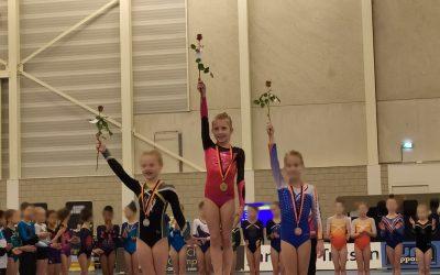 Milia Addicks 1e op de halve Finale en door naar de Finale NK in Rotterdam
