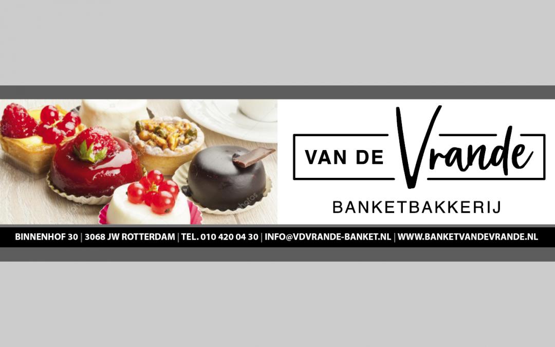 Nieuwe Sponsor: Banketbakkerij van de Vrande
