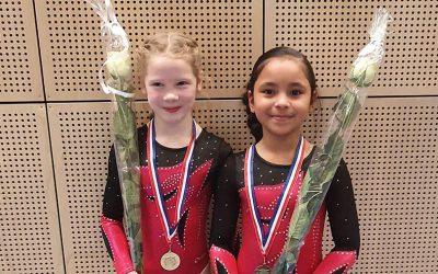 Goud en brons op de 2de districtswedstrijd 19 januari voor TurnAround